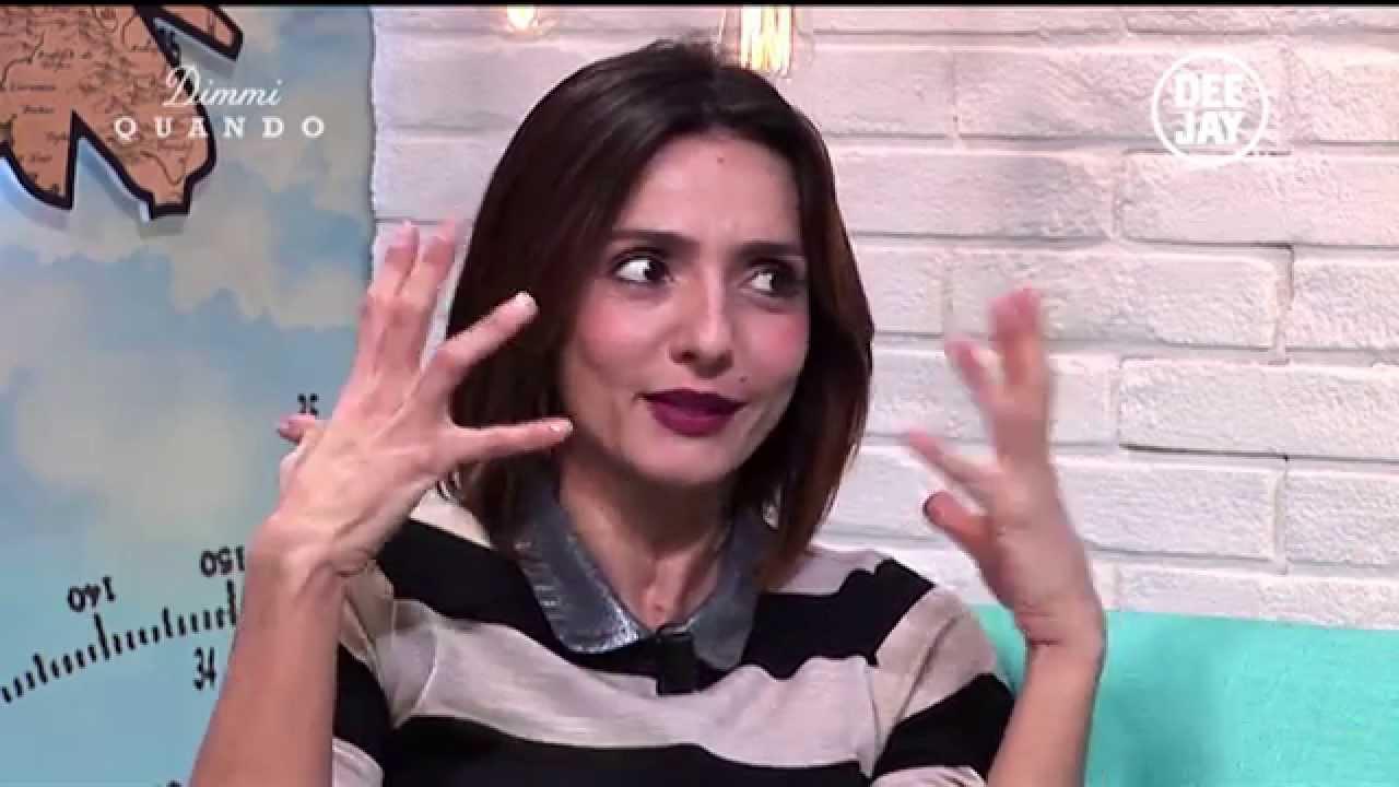 Dimmi Quando Intervista A Ambra Angiolini Youtube
