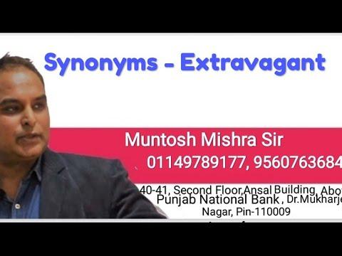 Synonyms : Extravagant - YouTube