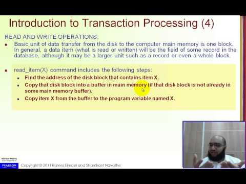 Chapter 21,17 - Transaction Processing - Part 1
