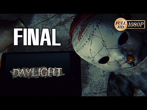 Daylight Final Español Walkthrough Gameplay Let's Play PC PS4 1080p