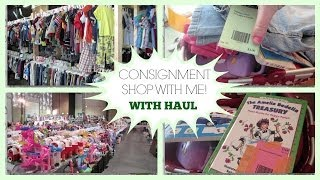 Consignment Shop With Me + Haul