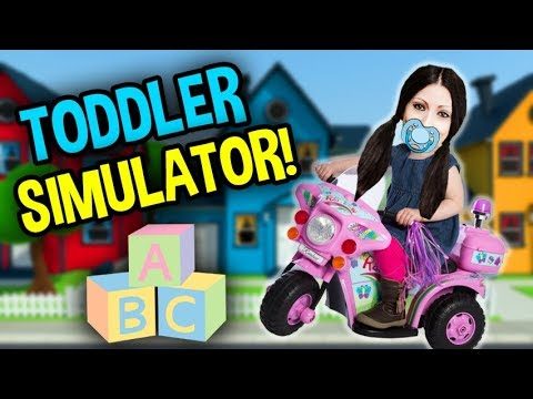 IM A KID AGAIN!  | TODDLER SIMULATOR! | Amy Lee