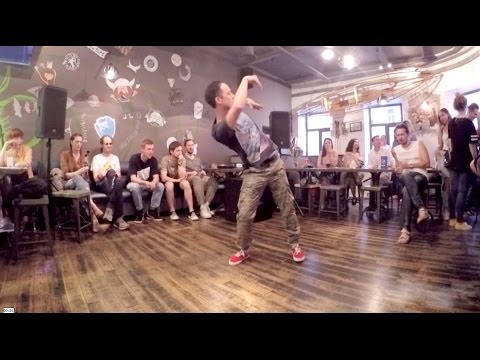 Amazing WAVING DANCE BATTLE 2016| Dragon VS Klimat