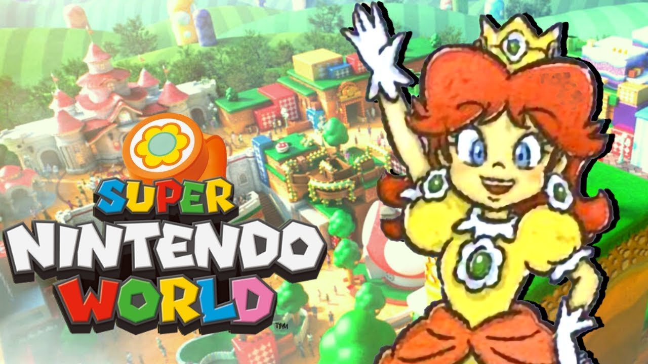 Download DAISY DANS SUPER NINTENDO WORLD! 😆😆