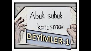 DEYİMLER 1