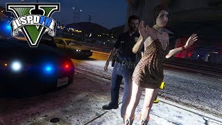 GTA 5 LSPDFR - Creating Arrest Reports - Solicitation