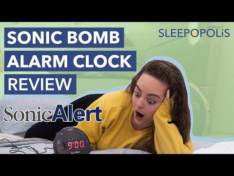 Sonic Alert Sonic Bomb Alarm Clock Review - Is It The Loudest Alarm Clock?