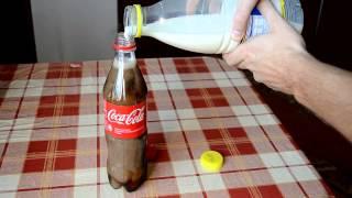 実験! コーラに牛乳を混ぜて放置するとどうなってしまうのか?