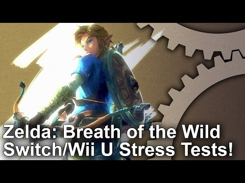 Zelda: Breath of the Wild Switch vs Wii U Frame-Rate Stress Tests!