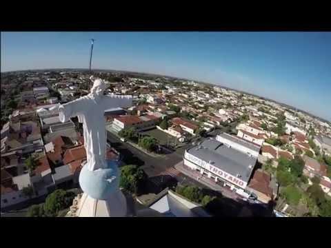 Vista Aérea Cidade de Dracena/SP - AVLIS FILMES - FULLHD