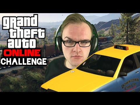 Challenge: VERRÜCKTER Taxifahrer 🎮 Grand Theft Auto Online #175