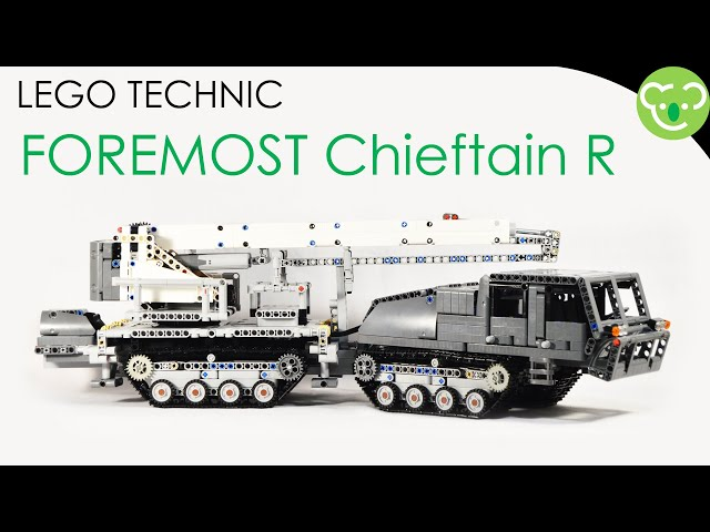 Foremost Chieftain R - LEGO Technic MOC with SBrick