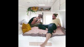Full Van Conversion of a VW Crafter / DIY Campervan / So eine Roomtour habt ihr noch nie gesehen !