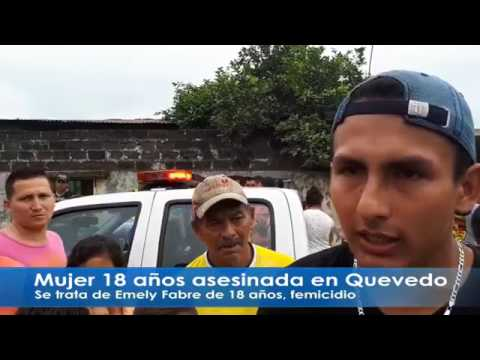 Mujer de 18 años es asesinada por su ex conviviente en Quevedo.