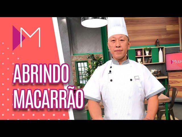 Aprenda a técnica chinesa para ABRIR MACARRÃO - Mulheres (15/02/19)