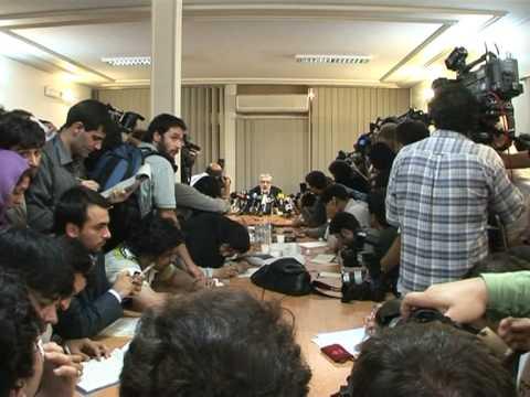 Mousavi cries foul in Iranian vote