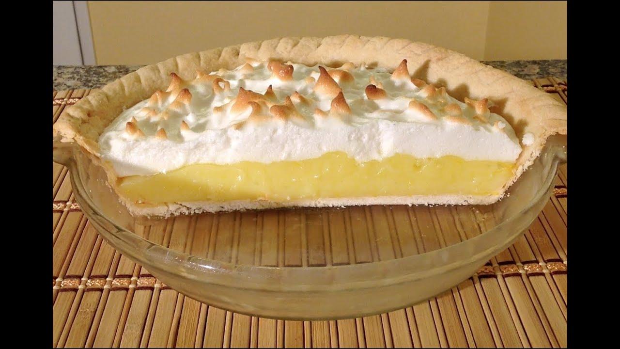 What is a good recipe for lemon meringue pie?