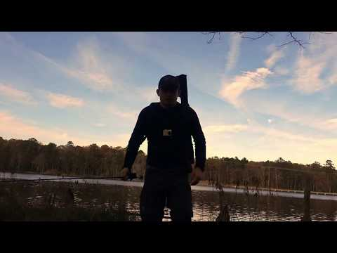 Bass Fishing A New Lake In Newport News Virginia