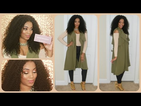 Date Night GRWM | Makeup, Hair, & Outfit Using New 2016 Prod