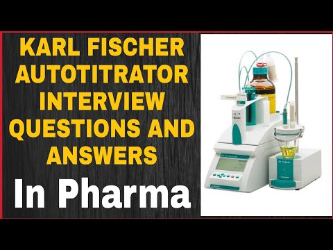 Interview Questions And Answers On KF Titrator | Karl Fischer Titrator | English Excel