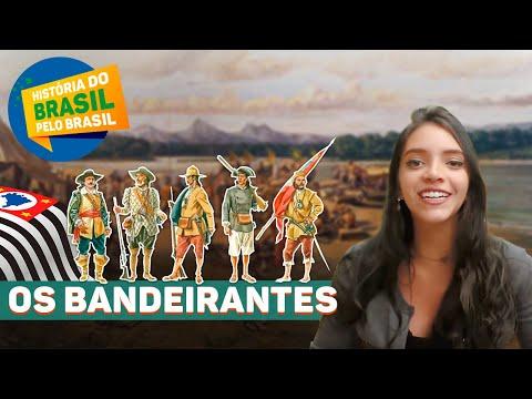 OS BANDEIRANTES PAULISTAS - HISTÓRIA DO BRASIL PELO BRASIL, EP.5 (Débora Aladim)