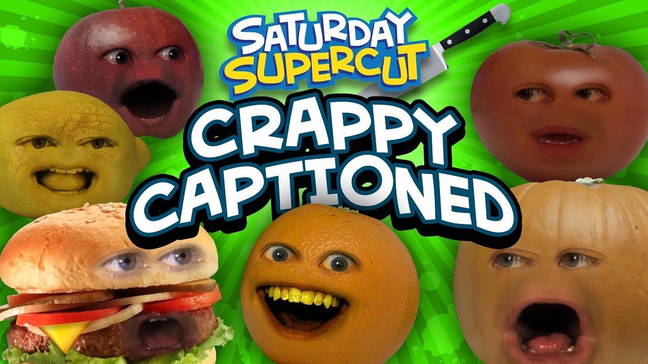 Download Every Crappy Captioned Annoying Orange Episode [Saturday Supercut]