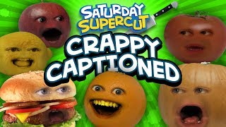 Every Crappy Captioned Annoying Orange Episode [Saturday Supercut]