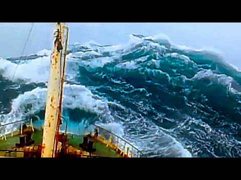 Sailing Ships Boats in Monster Storms | Pirates Attack Ships | Rough Extreme Seas - Ocean Maverick