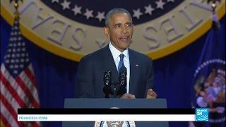 Discours d'adieu de Barack Obama : une allocution chargée d'émotion