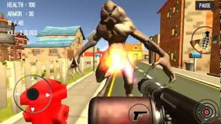 Monster Killing City Shooting III Trigger Strike - gameplay 1