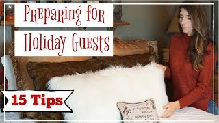 Holiday Guest Prep \\ 15 Tips to Prepare for Christmas Guest   Momma From Scratch
