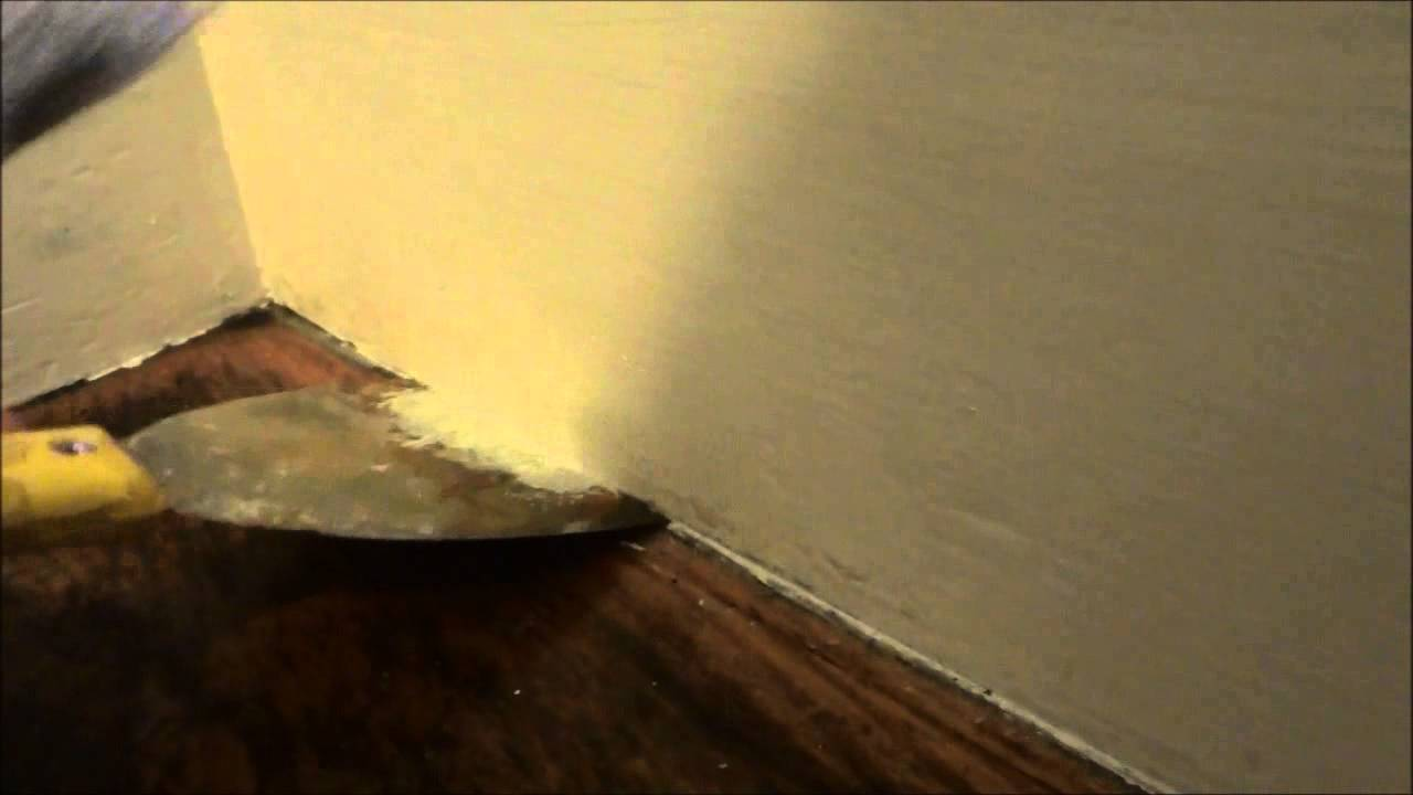 Painting Trick-Avoid Using Painter\'s Tape - YouTube