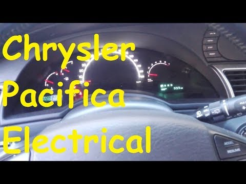 chrysler pacifica electrical problems / timp electric problems fuse box -  youtube