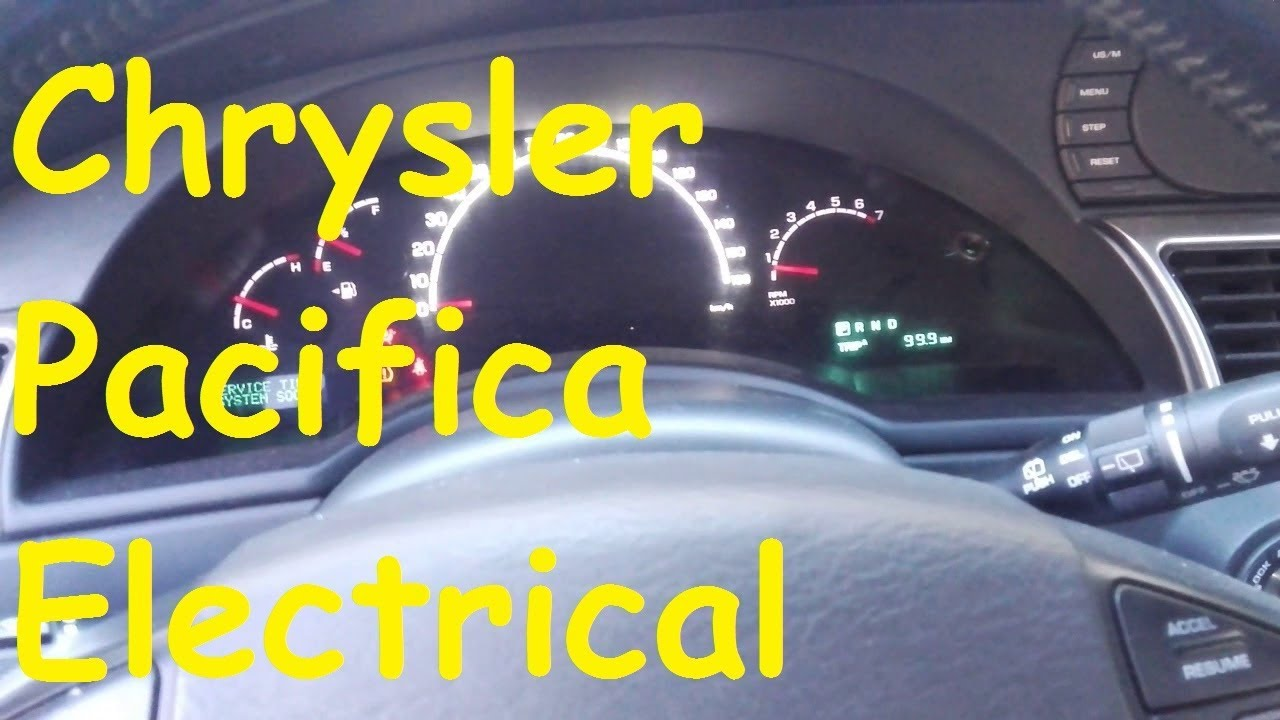 chrysler pacifica electrical problems / timp electric problems fuse box