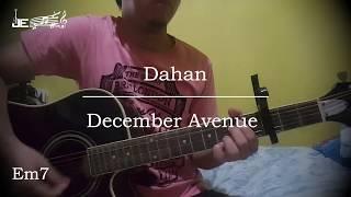 December Avenue - Dahan (Guitar Chords)