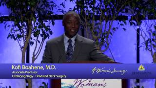 Kofi Boahene, M.D.   2016 A Woman's Journey Faculty Keynote Presentation