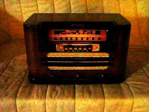 1942 Philco Model 42 327 Old Antique Wood Vintage Tube Radio