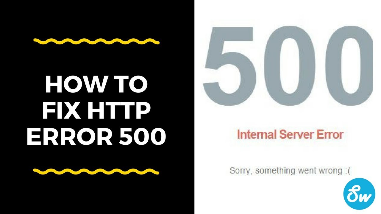 how to fix http error 500 | how to solve 500 error | how to solve 500  internal server error