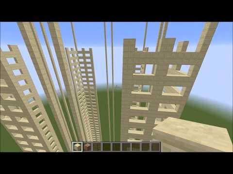 Minecraft: Let's Build: Seattle: 1201 Third Building: Part 6
