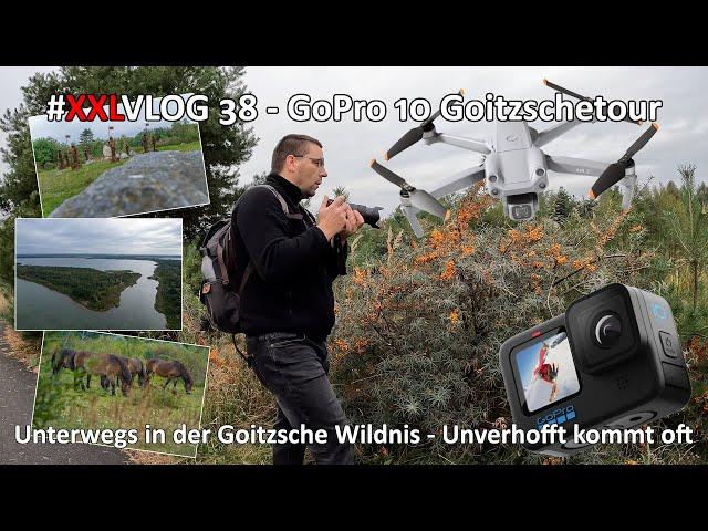 XXL VLOG #038 - GoPro 10 - Rund um den Goitzschesee - Wildpferde - Goitzschewächter - DJI Air 2s