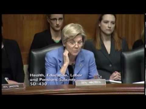 Elizabeth Warren - Generic Drugs Skyrocketing In Price