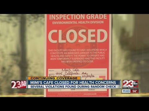 Mimi's Cafe closed due to health concerns