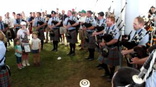 New York Metro Pipe Band,2011 Capital District Highland Games, Beer Tent