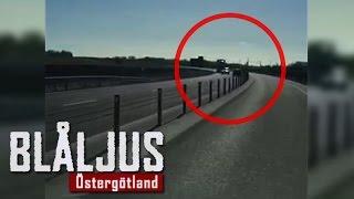 Blåljus Östergötland om skräckfärden på riksväg 50 och polisens nya ANPR-system