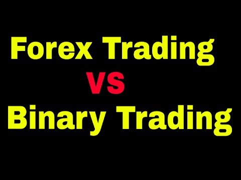 What Is The Difference Between Forex Trading And Binary Options Trading?