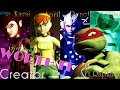 April, Karai, Renet, Mona - Worth It (girl band) Ft Raphael TMNT 2012 [COMPLETE] ♫