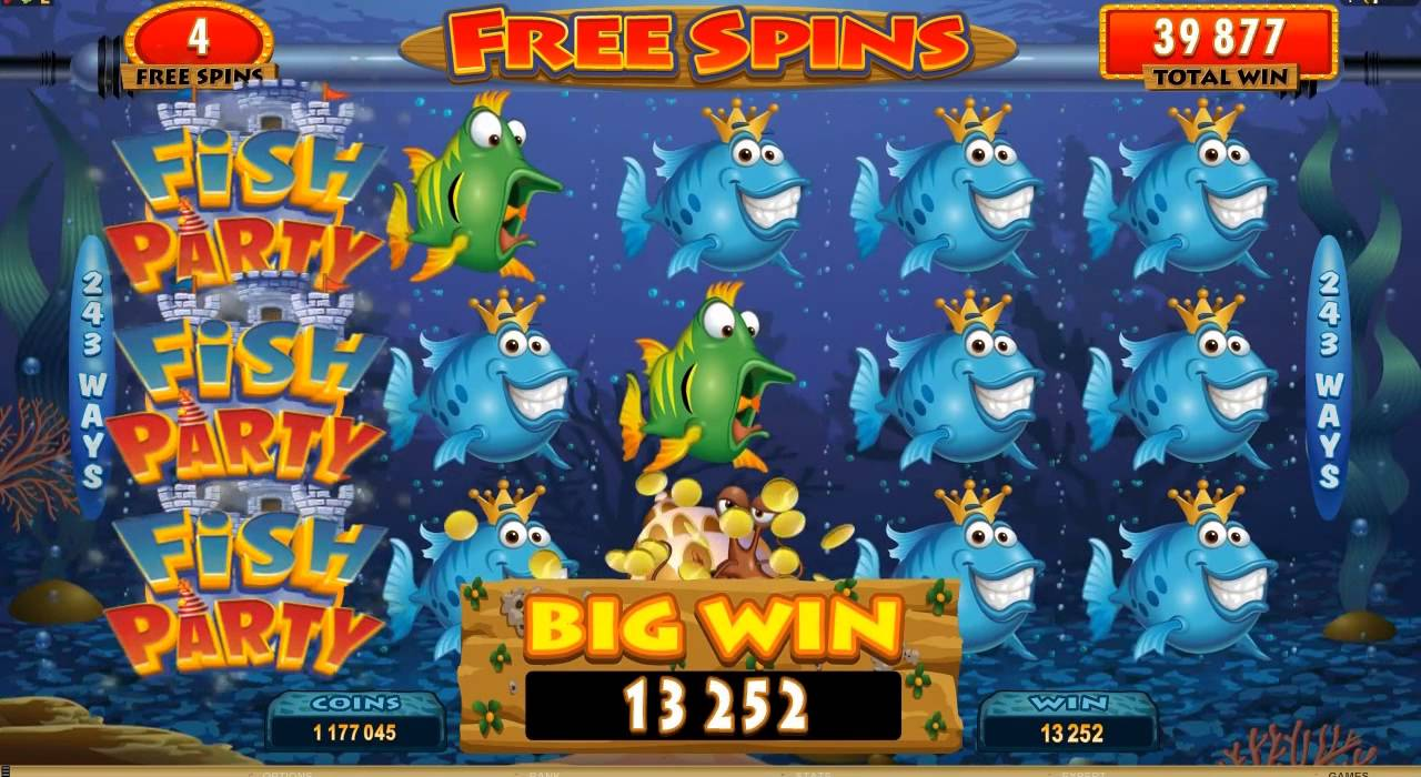 Try the Fish Party No Download Slots With No Risk