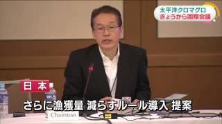 クロマグロ資源管理 国際会議きょうから福岡で