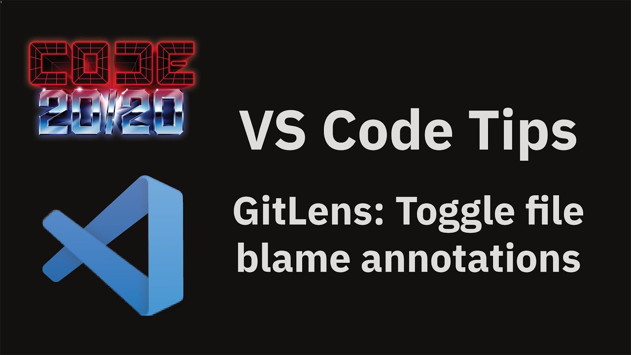GitLens: Toggle file blame annotations