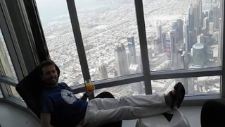 View BURJ KHALIFA of DUBAI, 828 mtrs. A Torre máis alta do Mundo.